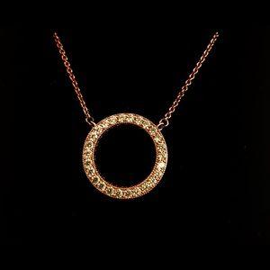 Pandora Rose Circle of Sparkle Necklace